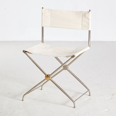 Vintage Folding Director Chair 1980s