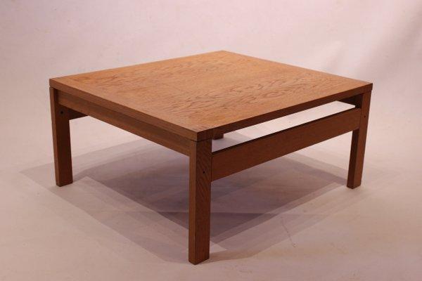 Tremendous Low Oak Side Table From France Son 1960S Machost Co Dining Chair Design Ideas Machostcouk