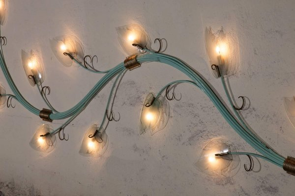 Long Wall Lamp From Fontana Arte 1950s For Sale At Pamono