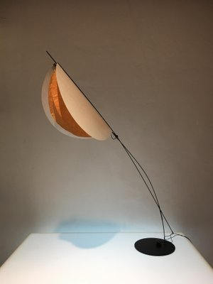 Yellow Petal Table Lamp By Celine Wright
