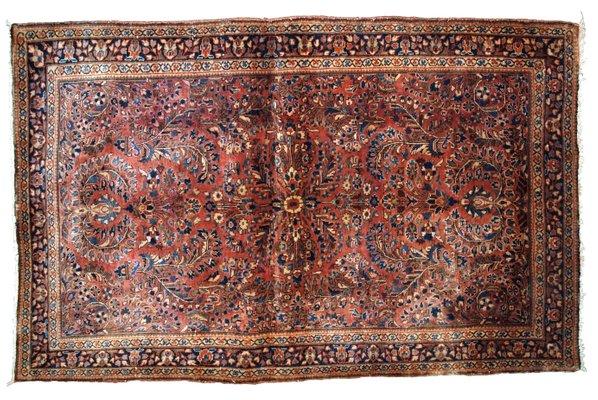 Alfombra vintage tejida a mano, años 20 en venta en Pamono