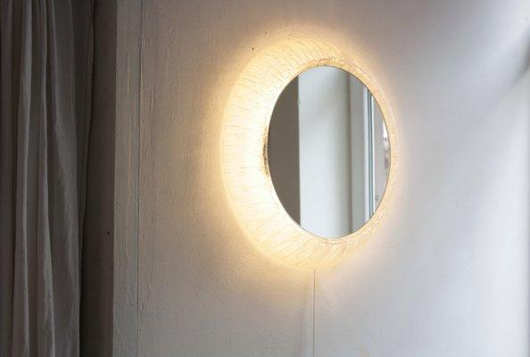 Fabulous Beleuchteter Spiegel aus Acryl & Glas von Hustadt Leuchten, 1960er WD83