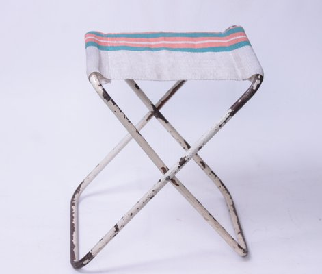 Admirable Vintage Garden Folding Stool 1950S Unemploymentrelief Wooden Chair Designs For Living Room Unemploymentrelieforg