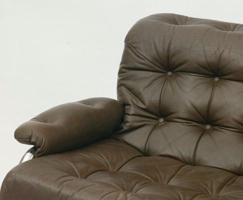 Fantastic Chrome Tubular Two Seater Sofa By Johann Bertil Haggstrom For Ikea 1970S Andrewgaddart Wooden Chair Designs For Living Room Andrewgaddartcom