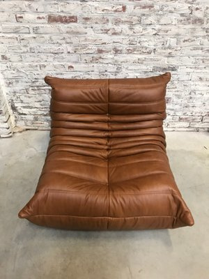 Peachy Vintage Togo Leather Sofa By Michel Ducaroy For Ligne Roset Caraccident5 Cool Chair Designs And Ideas Caraccident5Info
