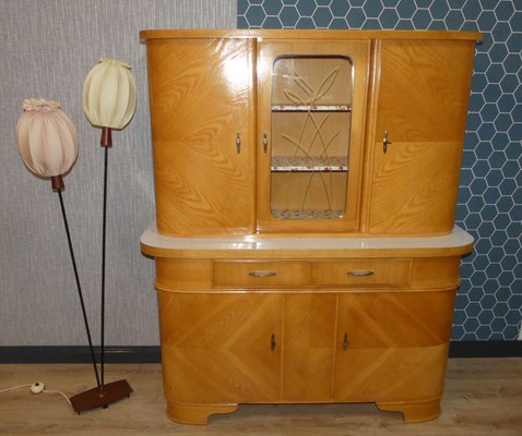 Large German Kitchen Cabinet 1960s
