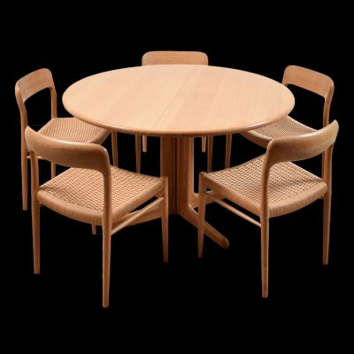 Dining Room Set By Niels O Møller For J L Møllers 1950s 1