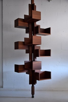 Poltrona Frau Albero.Mid Century Rosewood Albero Bookmill By Gianfranco Frattini For Poltrona Frau 1955