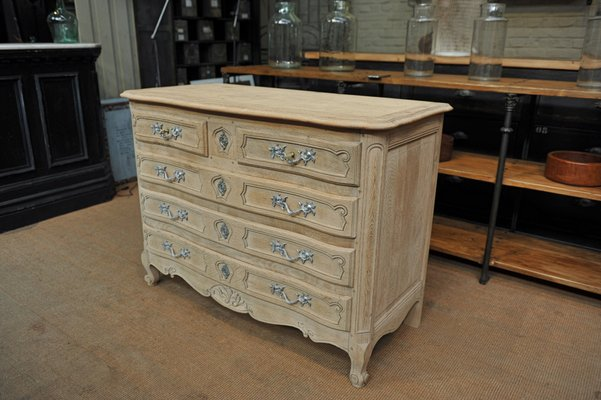 Louis Xv Style Oak Chest Of Drawers 1950s For Sale At Pamono