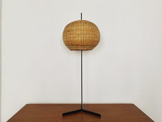Kronleuchter Stehlampe ~ Italienische stehlampe aus korbgeflecht er bei pamono kaufen