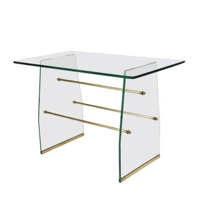 Brass U0026 Glass Coffee Table By Pietro Chiesa For Fontana Arte, ...