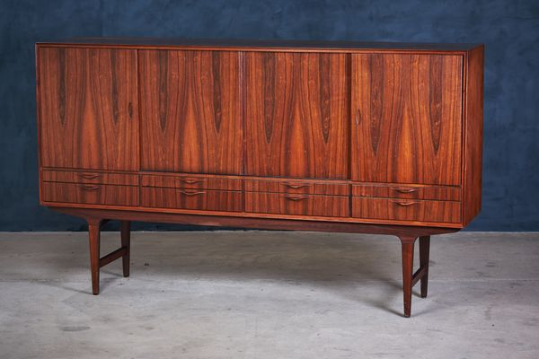 Danish Modern Credenza For Sale : Danish modern rosewood credenza 1960s for sale at pamono