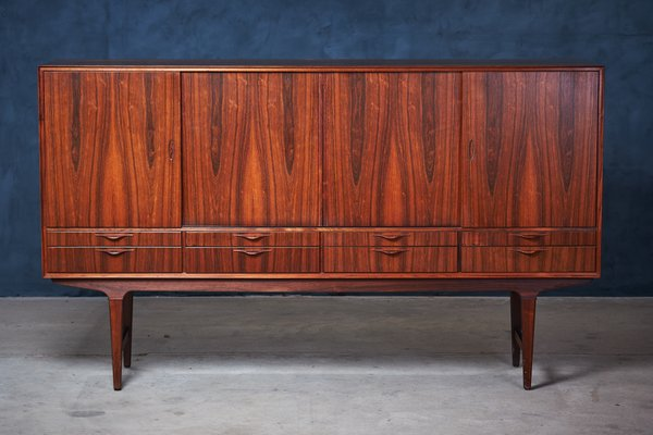 Danish Floating Credenza : Danish modern rosewood credenza s for sale at pamono