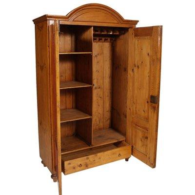 best service b81f7 9f8c0 Austrian Solid Wood Wardrobe Cabinet, 1830s