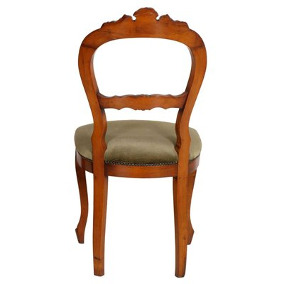 Cool Antique Louis Philippe Hand Carved Blond Walnut Chairs Set Of 6 Theyellowbook Wood Chair Design Ideas Theyellowbookinfo