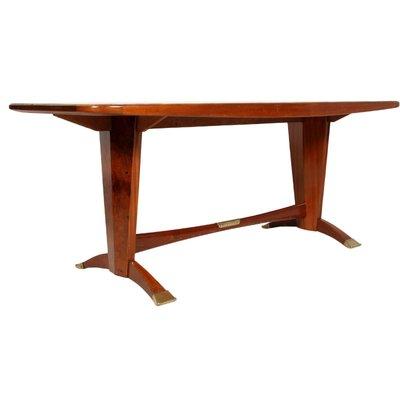 Juego de mesa de comedor y seis sillas de Melchiorre Bega para Cantù ...