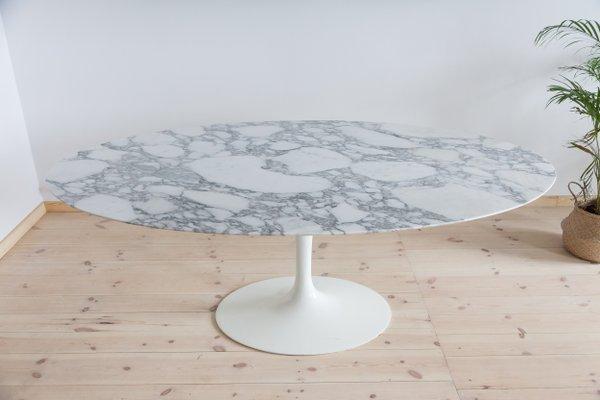 Vintage Oval Dining Room Table By Eero Saarinen For Knoll Inc 1958