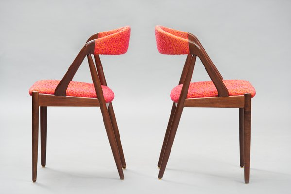 Mid Century Modern Rosewood No 31 Dining Chairs By Kai Kristiansen For Schou Andersen Set Of 6 For Sale At Pamono