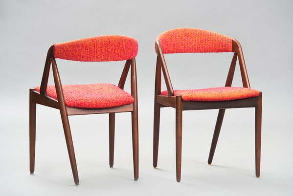 Outstanding Mid Century Modern Rosewood No 31 Dining Chairs By Kai Kristiansen For Schou Andersen Set Of 6 Gmtry Best Dining Table And Chair Ideas Images Gmtryco