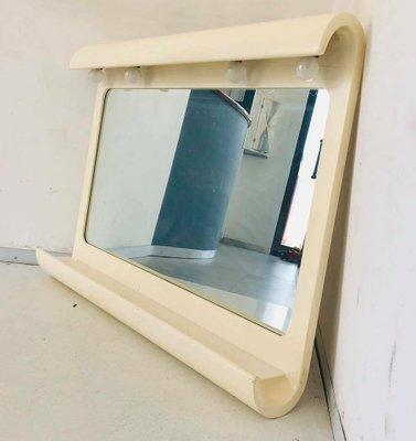 Vintage Italian Bathroom Mirror 1970s For Sale At Pamono