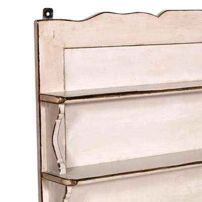 Antique Italian Painted Wood Kitchen Wall Shelf For Sale At Pamono