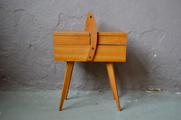 16e446431 Mid-Century French Sewing Box for sale at Pamono