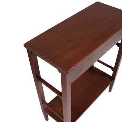 Art Nouveau Rustic Pine Console for sale at Pamono