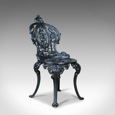 Sedie In Ghisa Da Giardino Prezzi.Sedia Da Giardino Vintage In Ghisa In Vendita Su Pamono