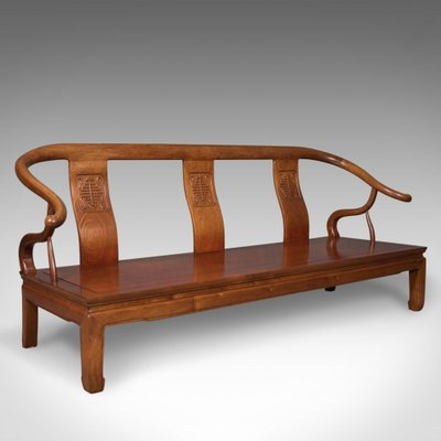 Antique Chinese Rosewood Bench