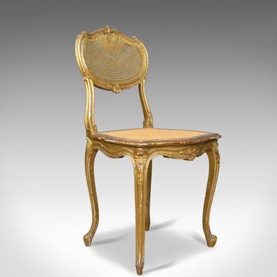 Sedie Luigi XV antiche, inizio XX secolo, set di 2