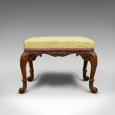 Edwardian (1901-1910) Antique Mahogany Stool Benches/stools