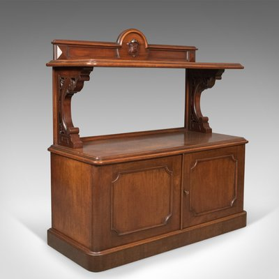 Antique Mahogany Buffet For At Pamono, Antique Buffet Furniture Pieces