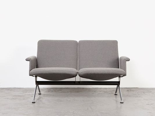 Terrific Model 1705 2 Seater Sofa By Andre Cordemeijer For Gispen 1961 Andrewgaddart Wooden Chair Designs For Living Room Andrewgaddartcom