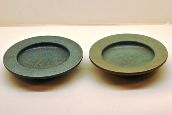 Plates By Gunnar Nylund For Rörstrand 1950s Set Of 2 For Sale At