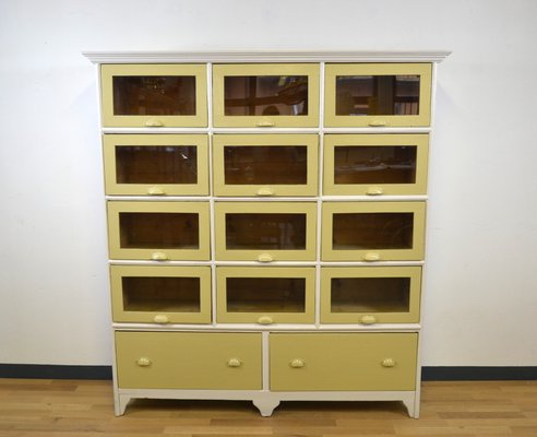 Italian Wooden Display Cabinet 1930s 1