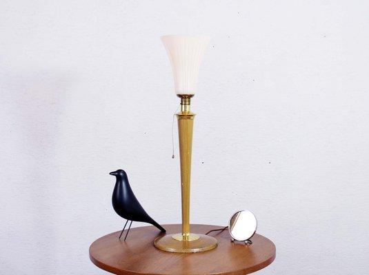 Art Deco Lampe von Mazda, 1950er