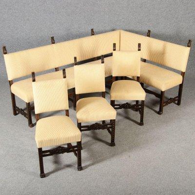 Set 3 Stühlen1890er Eckbank und mit 8wm0OvNn