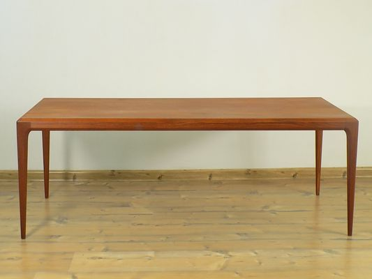 Teak Coffee Table By Johannes Andersen For Silkeborg 1960s For Sale