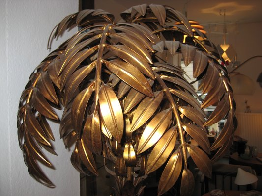 Palm Tree Floor Lamp By Hans Kogl 1960s