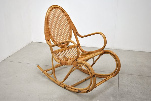 Excellent Mid Century Italian Rocking Chair Gmtry Best Dining Table And Chair Ideas Images Gmtryco