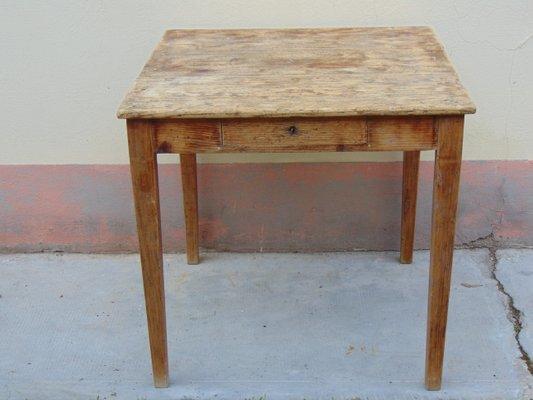 Vintage Rustic Side Table 1