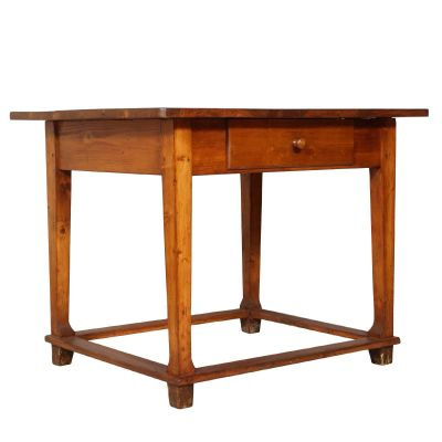 19th Century Tyrol Solid Wooden Desk 1880s 1