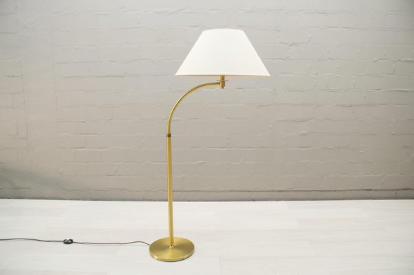 Mid Century Adjustable Brass Arc Floor Lamp 1960s For Sale At Pamono