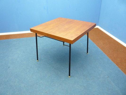 German Teak Folding Table 1960s 1