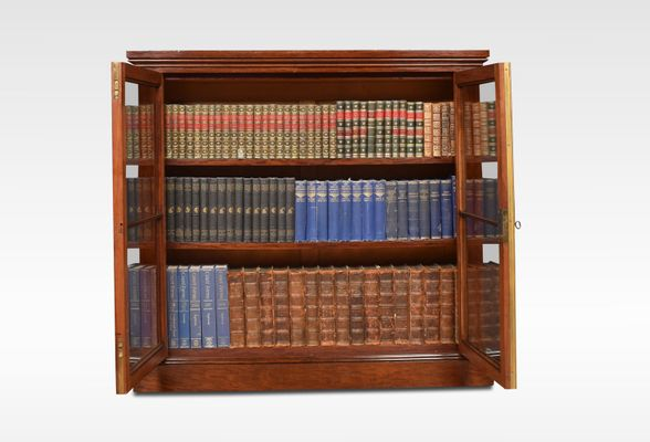 Outstanding Small Georgian Mahogany Bookcase Ocoug Best Dining Table And Chair Ideas Images Ocougorg