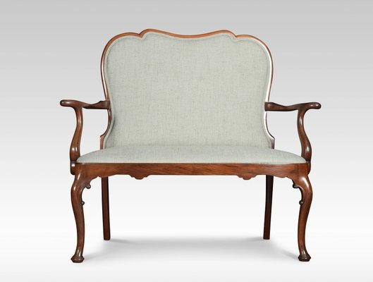 Antique Queen Anne Style Mahogany Two
