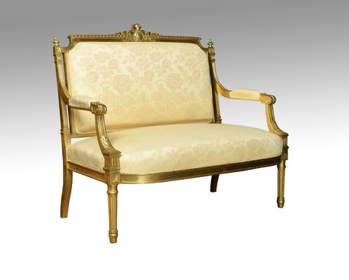 Antique Louis Xvi Style French Giltwood