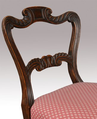 Awesome George Iv Simulated Rosewood Dining Chairs Set Of 6 Ncnpc Chair Design For Home Ncnpcorg