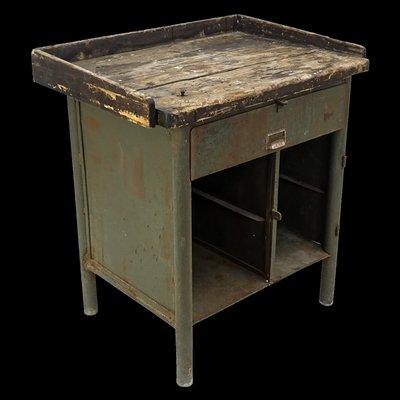 Wondrous Vintage Industrial Workbench Frankydiablos Diy Chair Ideas Frankydiabloscom