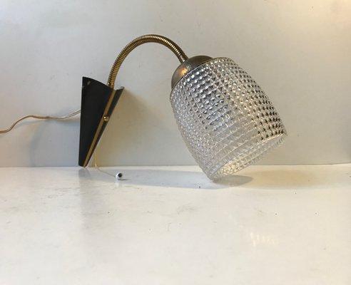 Plafoniere Da Parete Alternative : Lampada da parete moderna in ottone e vetro scandinavia anni